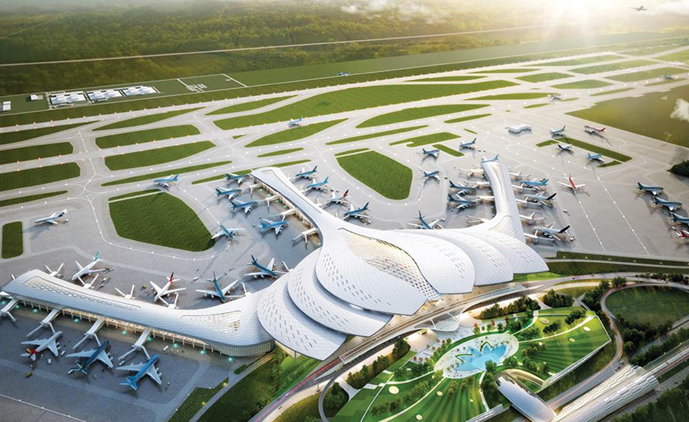 Đầu Tư xây dựng 3 tuyến đường ven Dự án sân bay Long Thành